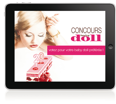 design web baby doll montpellier toulouse paris